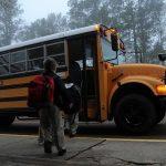 bus jaune américain